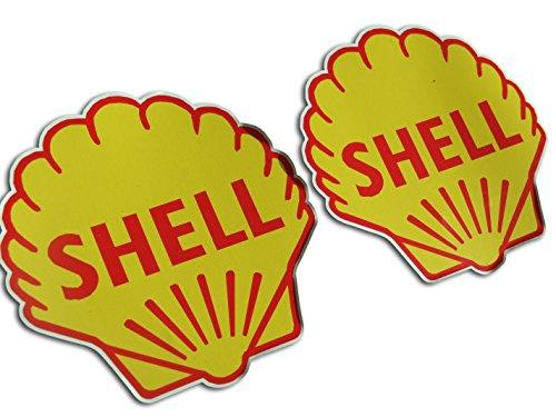 shell-classic-ole-rally-race-car-sticker-85-x-85-mm-bombing-look-jdm-aufkleber-2-euro