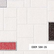 MUESTRA de papel pintado EDEM serie 584 | figuras geométricas y azulejos, 584-XX:S-584-26