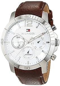 Tommy Hilfiger Hombre Reloj de pulsera Sophisticated Sport analógico de cuarzo piel 1791270 de Tommy Hilfiger