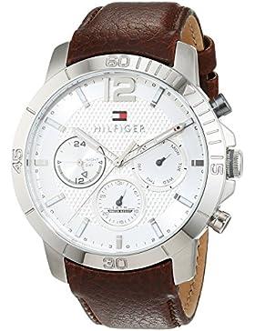 Tommy Hilfiger Herren-Armbanduhr Sophisticated Sport Analog Quarz Leder 1791270