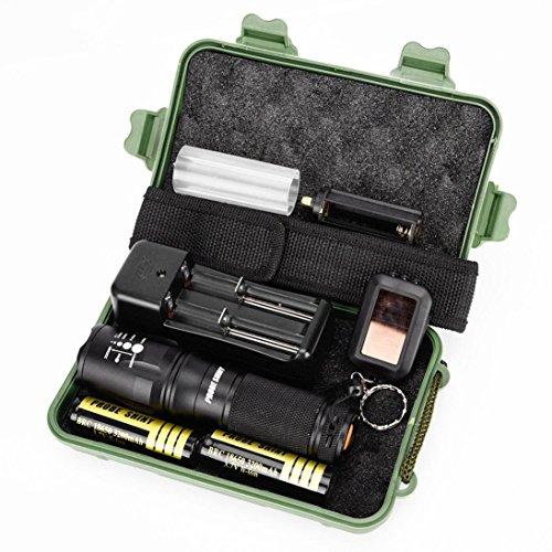 internet 5000 lumens g700 x800 tactical led xm l t6 zoom lampe de poche