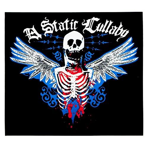 A Static Lullaby–Metall Skelett Aufkleber (Metall-womens Tee)