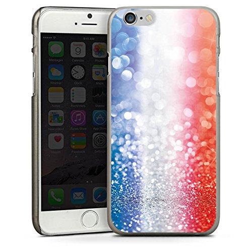 Apple iPhone 5s Housse Outdoor Étui militaire Coque France Paillettes Drapeau CasDur anthracite clair