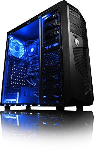 "VIBOX Sharp Shooter 7A PC Gaming Computer con War Thunder Voucher di Gioco, 22"" HD Monitor (3,8GHz AMD A6 Dual-Core Processore, Radeon R5 Grafica Chip, 8GB DDR4 RAM, 1TB HDD, Senza Sistema Operativo)"