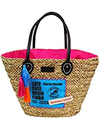 Bolsa de playa Banana Moon Woodraw Baisley Rosa