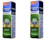 2 x Kukident Plus Doppia Protezione Crema Adesiva per Dentiere 40 gr