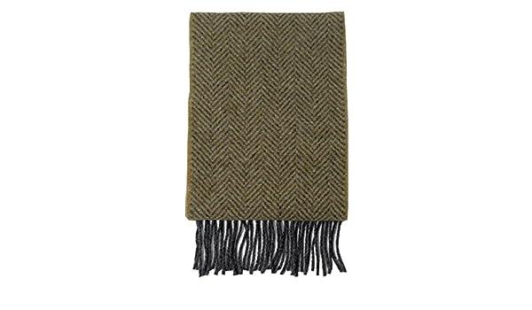 McLaughlins Irish Shop Irischer Schal aus Wolle und Kaschmir Fischgr/ätmuster.