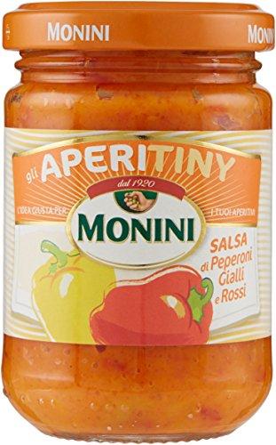 Monini Aperitiny Salsa di Peperoni Gialli e Rossi - Pacco
