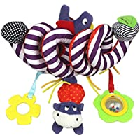 Colorful Hanging Spiral Toy,Malloom Baby Children Twisty Curly Musical Cartoon Gift Toys Hanging on Pram Pushchairs Car Seat Cot