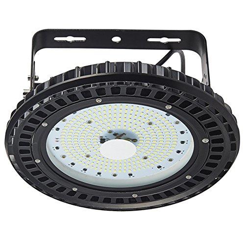 Viugreum® 100W LED UFO Industrielampe Led High Bay Licht, SMD 5730 LED Hallenstrahler, LED Licht Innen Außen, Wasserdicht IP65 Beleuchtung 12000LM Kaltweiß UFO LED Industriebeleuchtung Deckenleuchte