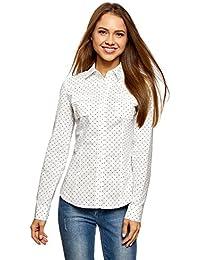 Amazon.fr   Pois - Chemisiers et blouses   T-shirts, tops et ... 90a134d65110