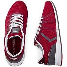 28f64b4ad1535 Amazon.es  zapatillas levis hombre - Rojo