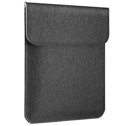 MoKo Sleeve, Custodia Protettiva Compatibile con iPad Mini (5th Gen) 7.9' 2019, iPad Mini 4/3/2/1, Samsung Galaxy Tab S2 8.0, Custodia in Poliestere con Chiusura Magnetica - Grigio Scuro