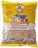 #6: 24 Mantra Organic Red Poha (Flattened Rice), 500g