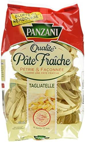 Panzani Pâtes Tagliatelles Qualité Pâte Fraîche 400 g