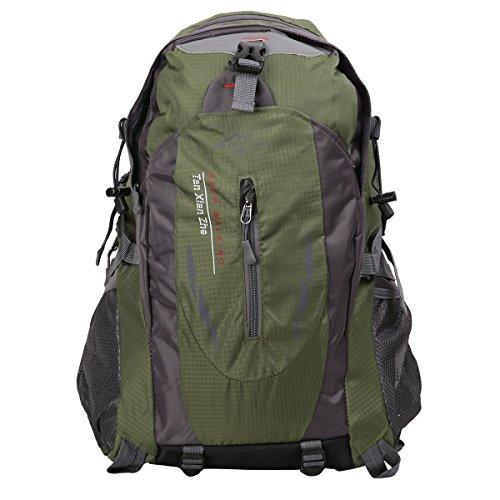 HWJIANFENG Zaini 30L Sportivi Unisex in Nylon Poliestere da Trekking Borse per Outdoor Campeggio Escursionismo Viaggi