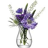 LSA International 9,5cm Fleur Mini Vase pour Petit Bouquet, Transparent