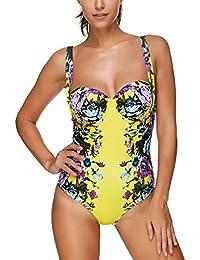 Bornbayb femmes Ruffle taille haute bikini ensemble volant haut maillot de bain maillots de bain (S-3XL) Réduction De 100% D'origine Espace Large Gamme De Manchester Grande Vente Pas Cher En Ligne QOuZRPqvy