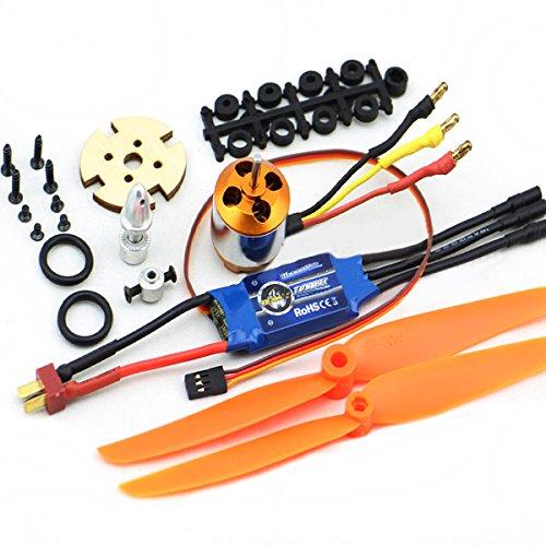 LaDicha XXD 2212 Motor + ztw Beatles AL30A Brushless ESC + Propeller Set