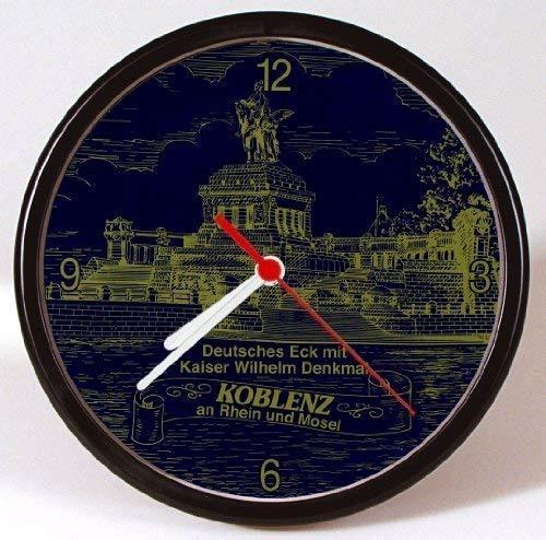 Wanduhr - Uhr - Clock - batteriebetrieben - Koblenz - Kaiser Wilhelm Denkmal - Größe ca. 25 cm - 56733