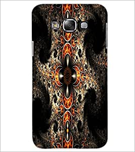 PrintDhaba Pattern D-1213 Back Case Cover for SAMSUNG GALAXY GRAND 3 (Multi-Coloured)