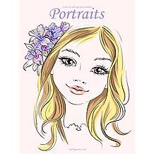 Livre de coloriage pour adultes Portraits 4