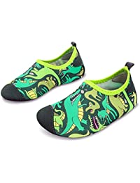 L-Run Kids Swim Water Shoes Calcetines Descalzos Aqua Socks para la Piscina de la Playa Surf Yoga