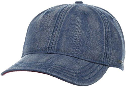 casquette-marshal-cotton-stetson-baseball-cap-taille-unique-bleu