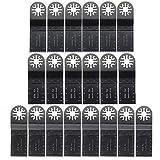RouYuan Oszillationswerkzeug Schleifen-Pads 20pcs oszillierende Multitool Sägeblatt Zubehör 35mm Mix Blades Set Elektrik & Werkzeuge