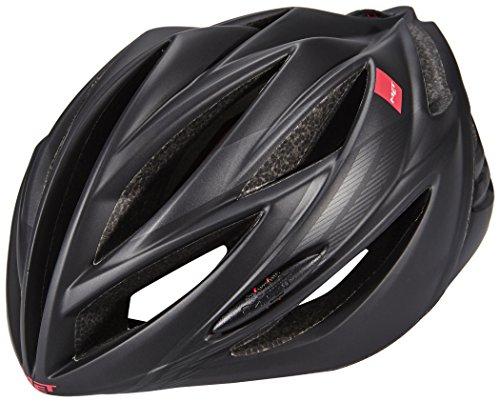 Met Forte Casco De Ciclismo, Unisex Adulto, Negro, 52-59 cm