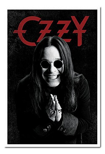 Ozzy Osbourne Pray poster magnetico bacheca Bianco Incorniciato-96.5x 66cms (circa 96,5x 66cm)