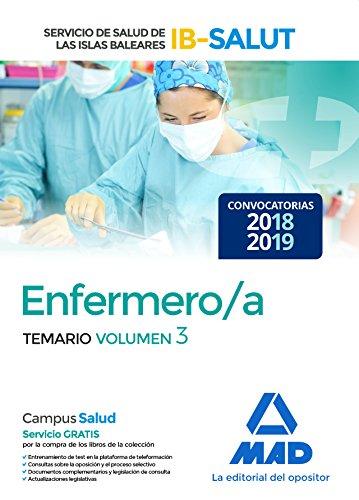 Enfermero/a del Servicio de Salud de las Illes Balears (IB-SALUT).Temario volumen 3