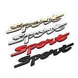 Eximtrade Auto 3D Sticker Etichetta Decorazione Decalcomanie Sport (Rosso)