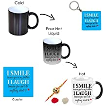 Giftsmate™ Bhaidooj Gifts for Brother, Funny Teasing I Smile I Laugh Hamper