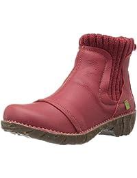 El Naturalista Damen Ne23 Soft Grain Purple / Yggdrasil Chelsea Boots