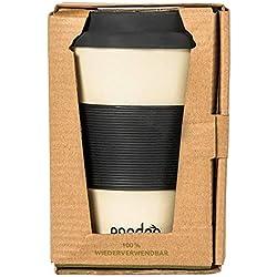 Taza de café para llevar de bambú de Pandoo