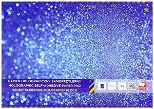 Interdruk ZEPAHOB5 - Bloc de Papel holográfico B5 6