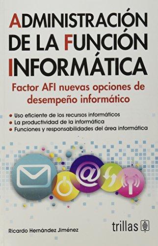 Administracion de la funcion informatica/Data Management