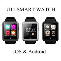 Calli U11 Sports Wristwatch Bluetooth Touch Screen Smart Watch For Android and IOS Support Multi Language