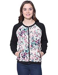 Purys Beige Printed Combination Jacket