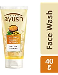 Ayush Anti Pimple Turmeric Face Wash, 40g
