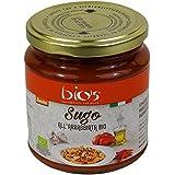 """BIO'S - Sauce Tomate """" all' Arrabbiata"""" Biologique Italien - DEMETER certifié biodynamique - 300gr"""