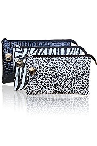 Vococal® 3 en 1 femmes Lady sac unique grand sac à main sac à main besace pour voyage Party de bureau