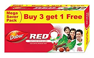 Dabur Red Paste, 150g (Buy 3 Get 1 Free)