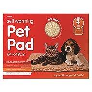 Autocollant chaud Pet pour lit Ultra Doux lavable en machine 64cm x 49cm