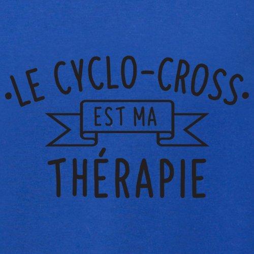 Le cyclo-cross est ma thérapie - Femme T-Shirt - 14 couleur Bleu Royal
