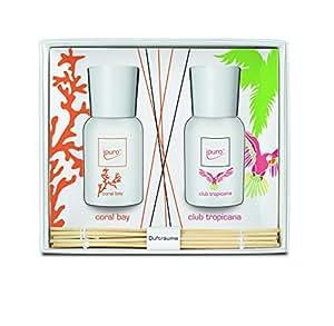 Ipuro Season Line Diffuseur de parfum d'ambiance Senteur Coral Bay et Club Tropicana