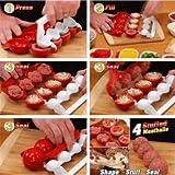 Trendy Lifestylez Homemade Stuffed Meatball Maker DIY Useful Fish Ball Mold