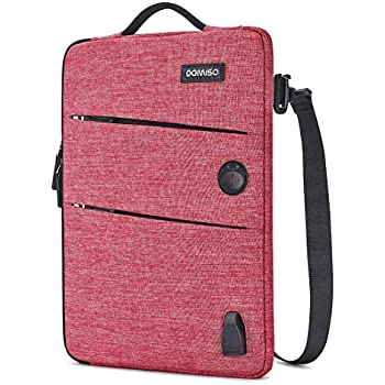 300b6a5984 DOMISO 13-13,3 Pouces Imperméable Housse Sac de Protection Ordinateur  Portable avec Port