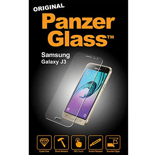 Image of PanzerGlass Displayschutzglas (Anti-Fingerprint); passend für Samsung Galaxy J3 (2016), Klar